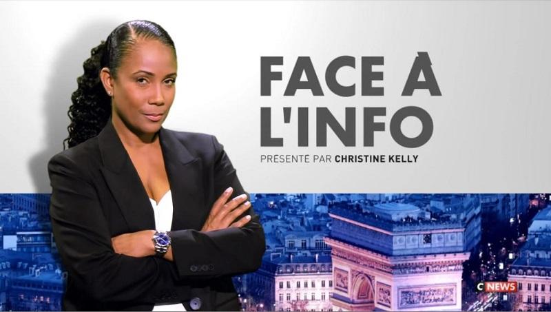 Émission Face à l'info sur Cnews